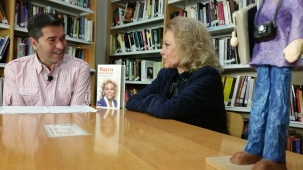 MAYRA GOMEZ KEMP con JabierCalle para LaVisita desde Centro Documentacion Mujer BILBAO (17)